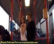 Porn Star Bonnie Shai gropped in the Bus Free from arekasta grop sex com