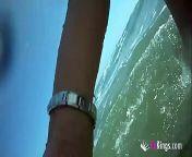 Little Mermaid XXX: Sol fingers herself in the Valencia's seaside from soundu xxx fake