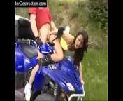 una buena cojida extrema en moto y rapel from hostal indan xxcn rapel villa