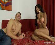 Sadie Santana gets a creampie from indian xxx sadi mu