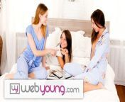 EXCLUSIVE: Webyoung innocent Angel Lesbian Teen Threesome from shaksi