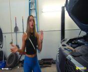 Roadside - Hot Mom Fucks Mechanic To Get Her Car Back from xxx sanileven hot photo com