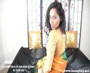 Hindi Mom Catches StepSon With Panties POV (Eng Subtitles) from horny mumbai gi