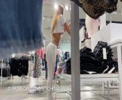 Voyeur Underboob in the Mall from manisha koirala downblouse popping boobs slowmotion