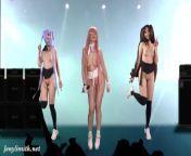 Naked Singer on stage. Virtual Reality. Naked Dance from bangladeshi nanga dance stage video desi