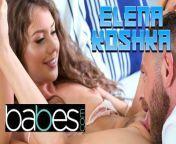 Babes -Petite brunette Elena Koshka sexts her man and masturbates from a scene from elena undonemil rap videos mp3a kaif new cd