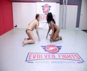 Lesbian Sex Fight As Carmen Valentina Wrestles Mocha Menage Then Strapon Fucks Her from sex with tirupati auntyngla sundori gir